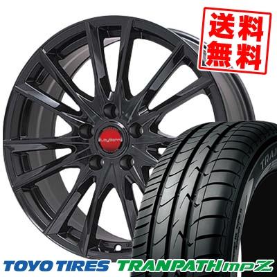 205/65R15 TOYO TIRES トーヨー タイヤ TRANPATH mpZ トランパス mpZ LeyBahn GBX レイバーン GBX サマータイヤホイール4本セット