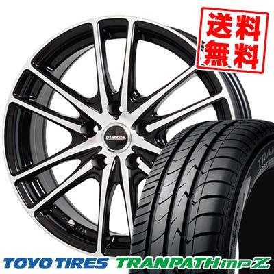 225/50R17 TOYO TIRES トーヨー タイヤ TRANPATH mpZ トランパス mpZ Laffite LW-03 ラフィット LW-03 サマータイヤホイール4本セット