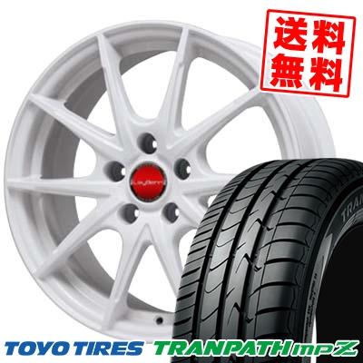 215/55R18 TOYO TIRES トーヨー タイヤ TRANPATH mpZ トランパス mpZ LeyBahn WGS レイバーン WGS サマータイヤホイール4本セット