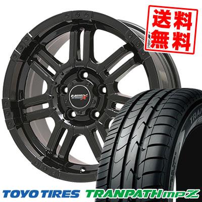 225/55R17 101V TOYO TIRES トーヨー タイヤ TRANPATH mpZ トランパス mpZ B-MUD X Bマッド エックス サマータイヤホイール4本セット