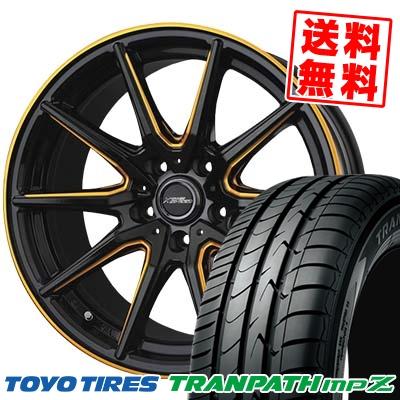 205/50R17 93V TOYO TIRES トーヨー タイヤ TRANPATH mpZ トランパス mpZ CROSS SPEED PREMIUM RS10 クロススピード プレミアム RS10 サマータイヤホイール4本セット