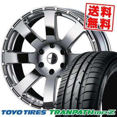 225/50R18 TOYO TIRES トーヨー タイヤ TRANPATH mpZ トランパス mpZ Reverson R8 レベルソン R8 サマータイヤホイール4本セット for 200系ハイエース