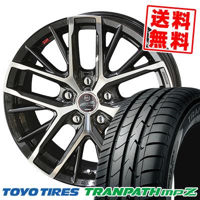 215/55R17 94V TOYO TIRES トーヨー タイヤ TRANPATH mpZ トランパス mpZ SMACK REVILA スマック レヴィラ サマータイヤホイール4本セット