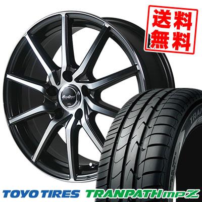 205/55R16 94V TOYO TIRES トーヨー タイヤ TRANPATH mpZ トランパス mpZ EuroSpeed S810 ユーロスピード S810 サマータイヤホイール4本セット
