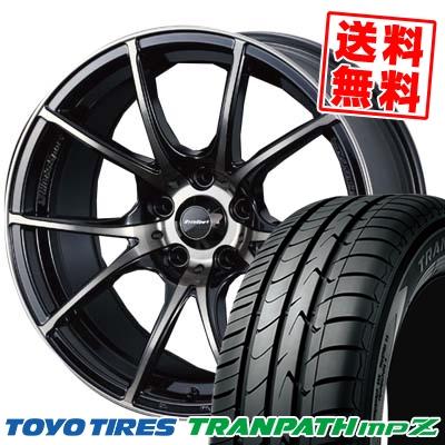225/50R18 95V TOYO TIRES トーヨー タイヤ TRANPATH mpZ トランパス mpZ wedsSport SA-10R ウエッズスポーツ SA10R サマータイヤホイール4本セット