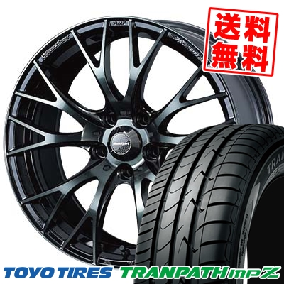 225/50R18 TOYO TIRES トーヨー タイヤ TRANPATH mpZ トランパス mpZ WedsSport SA-20R ウェッズスポーツ SA20R サマータイヤホイール4本セット