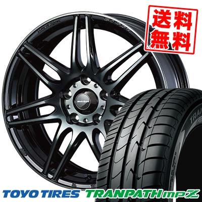 215/60R16 95H TOYO TIRES トーヨー タイヤ TRANPATH mpZ トランパス mpZ wedsSport SA-77R ウェッズスポーツ SA-77R サマータイヤホイール4本セット