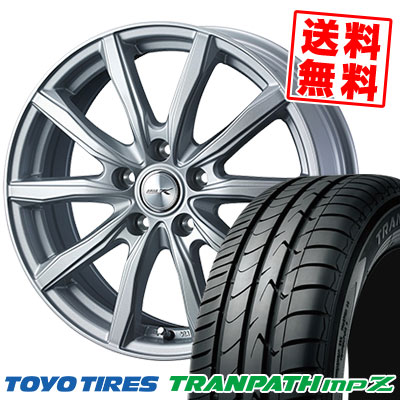205/70R15 96H TOYO TIRES トーヨー タイヤ TRANPATH mpZ トランパス mpZ JOKER SHAKE ジョーカー シェイク サマータイヤホイール4本セット