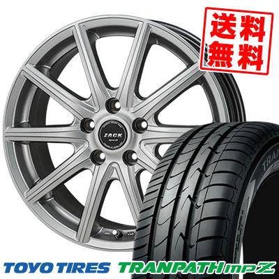 215/60R16 95H TOYO TIRES トーヨー タイヤ TRANPATH mpZ トランパス mpZ ZACK SPORT-01 ザック シュポルト01 サマータイヤホイール4本セット