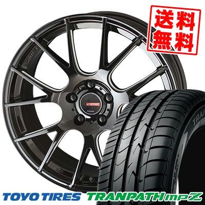 215/45R17 91W TOYO TIRES トーヨー タイヤ TRANPATH mpZ トランパス mpZ CIRCLAR RM-7 サーキュラー RM-7 サマータイヤホイール4本セット