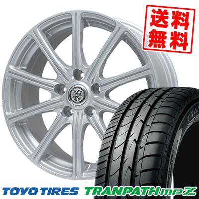 215/55R18 99V TOYO TIRES トーヨー タイヤ TRANPATH mpZ トランパス mpZ TRG-SS10 TRG SS10 サマータイヤホイール4本セット
