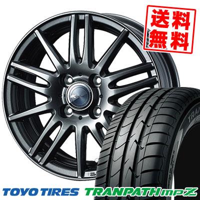 175/65R14 82H TOYO TIRES トーヨー タイヤ TRANPATH mpZ トランパス mpZ Zamik Tito ザミック ティート サマータイヤホイール4本セット