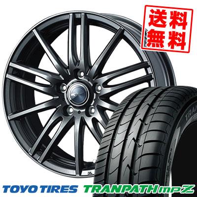 205/55R16 94V TOYO TIRES トーヨー タイヤ TRANPATH mpZ トランパス mpZ Zamik Tito ザミック ティート サマータイヤホイール4本セット