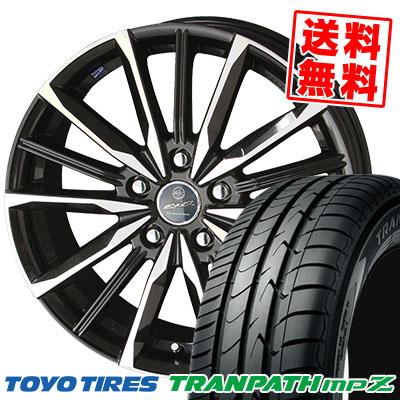 215/60R16 95H TOYO TIRES トーヨー タイヤ TRANPATH mpZ トランパス mpZ SMACK VALKYRIE スマック ヴァルキリー サマータイヤホイール4本セット