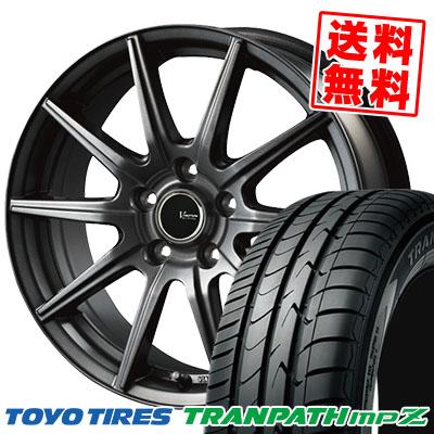215/60R17 96H TOYO TIRES トーヨー タイヤ TRANPATH mpZ トランパス mpZ V-EMOTION GS10 Vエモーション GS10 サマータイヤホイール4本セット