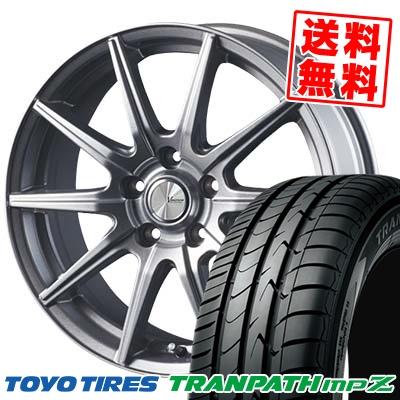 205/50R17 93V TOYO TIRES トーヨー タイヤ TRANPATH mpZ トランパス mpZ V-EMOTION SR10 Vエモーション SR10 サマータイヤホイール4本セット