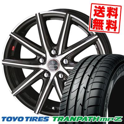 215/70R16 100H TOYO TIRES トーヨー タイヤ TRANPATH mpZ トランパス mpZ SMACK PRIME SERIES VANISH スマック プライムシリーズ ヴァニッシュ サマータイヤホイール4本セット