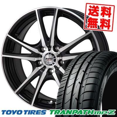 195/60R15 TOYO TIRES トーヨー タイヤ TRANPATH mpZ トランパス mpZ JP STYLE Vogel JPスタイル ヴォーゲル サマータイヤホイール4本セット