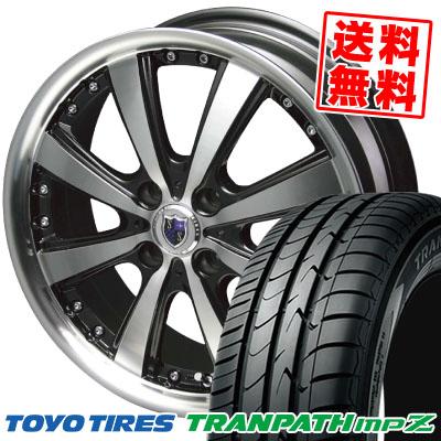 185/55R15 82V TOYO TIRES トーヨー タイヤ TRANPATH mpZ トランパス mpZ STEINER VS-5 シュタイナー VS5 サマータイヤホイール4本セット