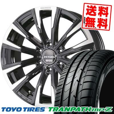 215/65R16 98H TOYO TIRES トーヨー タイヤ TRANPATH mpZ トランパス mpZ MAD CROSS BREAKER XS6 マッドクロス ブレイカー XS6 サマータイヤホイール4本セット【取付対象】