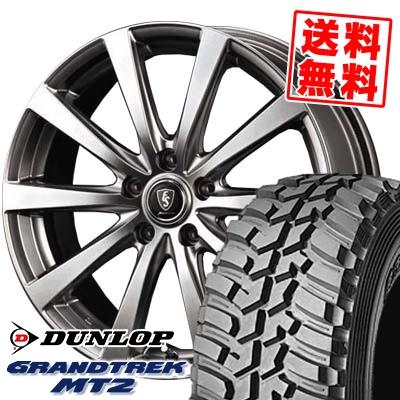 225/75R16 103/100Q DUNLOP ダンロップ GRANDTREK MT2 グラントレック MT2 Euro Speed G10 ユーロスピード G10 サマータイヤホイール4本セット