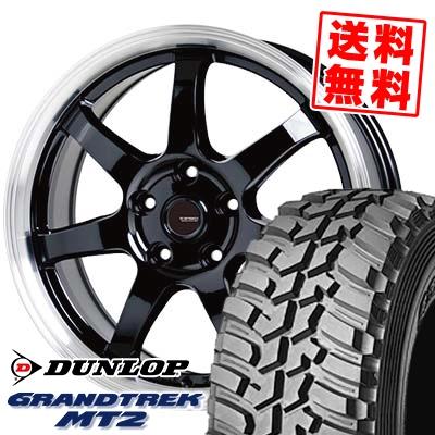 225/75R16 103/100Q DUNLOP ダンロップ GRANDTREK MT2 グラントレック MT2 G.speed P-03 ジースピード P-03 サマータイヤホイール4本セット