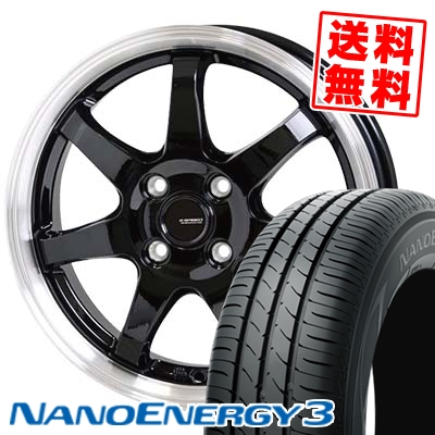 155/65R13 73S TOYO TIRES トーヨー タイヤ NANOENERGY3 ナノエナジー3 G.speed P-03 ジースピード P-03 サマータイヤホイール4本セット