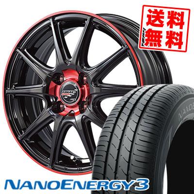 165/55R15 75V TOYO TIRES トーヨー タイヤ NANOENERGY3 ナノエナジー3 FINALSPEED GR-Volt ファイナルスピード GRボルト サマータイヤホイール4本セット