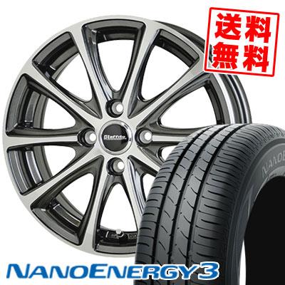 165/50R16 75V TOYO TIRES トーヨー タイヤ NANOENERGY3 ナノエナジー3 Laffite LE-04 ラフィット LE-04 サマータイヤホイール4本セット