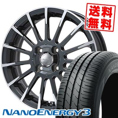 165/50R16 TOYO TIRES トーヨー タイヤ NANOENERGY3 ナノエナジー3 Leyseen F-XV レイシーン FX-V サマータイヤホイール4本セット