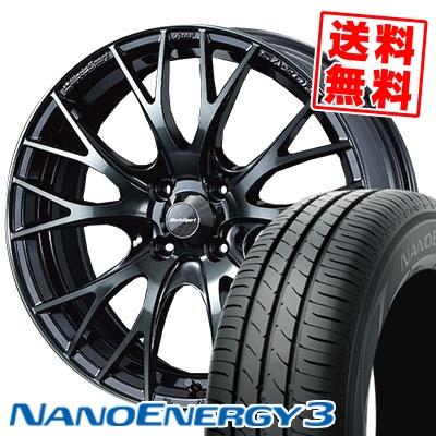 165/50R16 TOYO TIRES トーヨー タイヤ NANOENERGY3 ナノエナジー3 WedsSport SA-20R ウェッズスポーツ SA20R サマータイヤホイール4本セット
