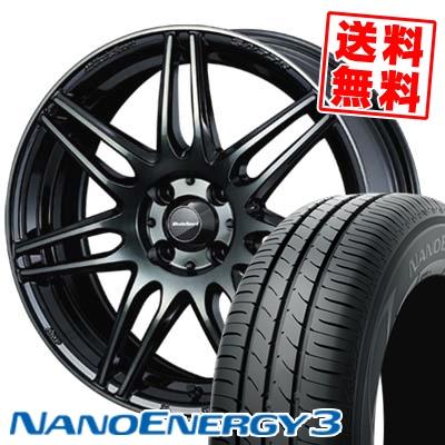 165/55R15 75V TOYO TIRES トーヨー タイヤ NANOENERGY3 ナノエナジー3 wedsSport SA-77R ウェッズスポーツ SA-77R サマータイヤホイール4本セット