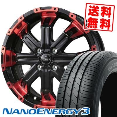 165/50R15 73V TOYO TIRES トーヨー タイヤ NANOENERGY3 ナノエナジー3 BADX LOXARNY BATTLESHIP4 バドックス ロクサーニ バトルシップ4 サマータイヤホイール4本セット
