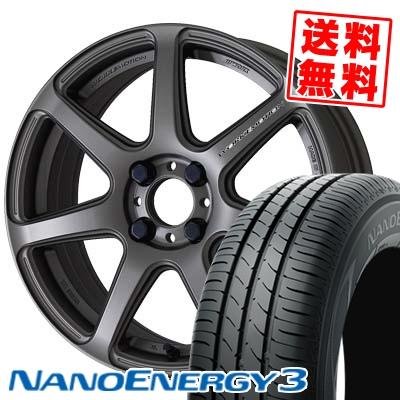 145/65R15 TOYO TIRES トーヨー タイヤ NANOENERGY3 ナノエナジー3 WORK EMOTION T7R ワーク エモーション T7R サマータイヤホイール4本セット