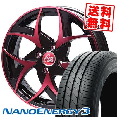 165/50R15 TOYO TIRES トーヨー タイヤ NANOENERGY3 ナノエナジー3 Cliff Climb TC-05 クリフクライム TC-05 サマータイヤホイール4本セット