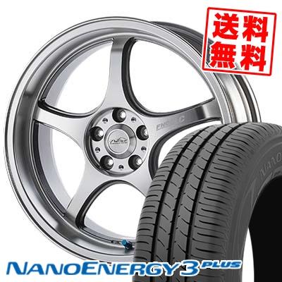 205/50R17 TOYO TIRES トーヨー タイヤ NANOENERGY3 PLUS ナノエナジー3 プラス 5ZIGEN PRORACER FN01R-Cα 5ジゲン プロレーサー FN01R-Cアルファ サマータイヤホイール4本セット