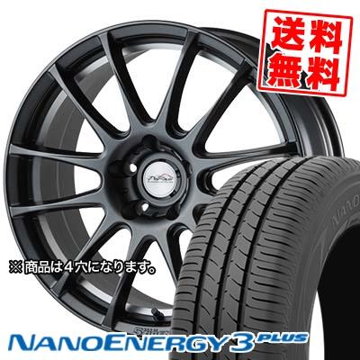 205/40R17 TOYO TIRES トーヨー タイヤ NANOENERGY3 PLUS ナノエナジー3 プラス 5ZIGEN PRORACER Z1 5ジゲン プロレーサー Z1 サマータイヤホイール4本セット