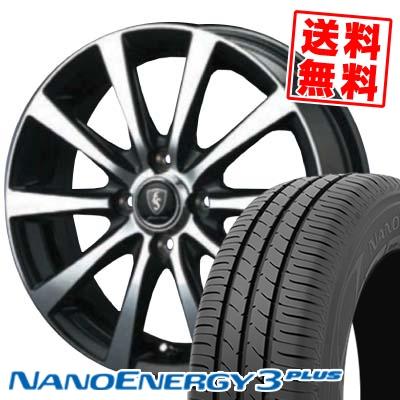 185/70R14 88S TOYO TIRES トーヨー タイヤ NANOENERGY3 PLUS ナノエナジー3 プラス EUROSPEED BL10 ユーロスピード BL10 サマータイヤホイール4本セット