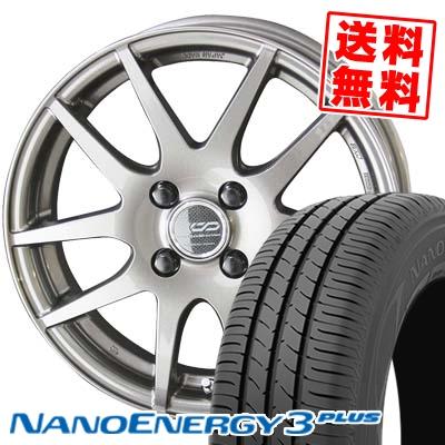 195/50R15 82V TOYO TIRES トーヨー タイヤ NANOENERGY3 PLUS ナノエナジー3 プラス ENKEI CREATIVE DIRECTION CDR2 エンケイ クリエイティブ ディレクション CD-R2 サマータイヤホイール4本セット