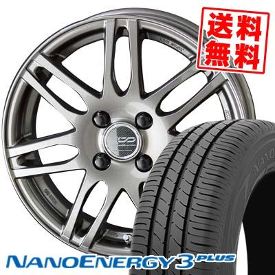 185/55R15 82V TOYO TIRES トーヨー タイヤ NANOENERGY3 PLUS ナノエナジー3 プラス ENKEI CREATIVE DIRECTION CDS2 エンケイ クリエイティブ ディレクション CD-S2 サマータイヤホイール4本セット