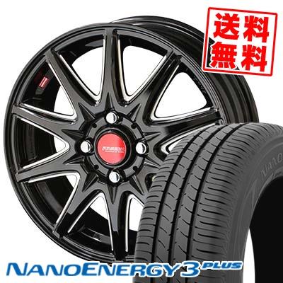195/55R15 85V TOYO TIRES トーヨー タイヤ NANOENERGY3 PLUS ナノエナジー3 プラス RIVAZZA CORSE リヴァッツァ コルセ サマータイヤホイール4本セット