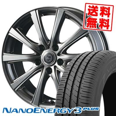 215/35R18 84W XL TOYO TIRES トーヨー タイヤ NANOENERGY3 PLUS ナノエナジー3 プラス CLAIRE DG10 クレール DG10 サマータイヤホイール4本セット