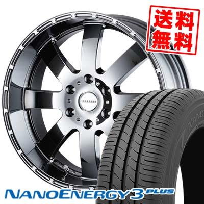 225/35R20 TOYO TIRES トーヨー タイヤ NANOENERGY3 PLUS ナノエナジー3 プラス Reverson DR8 レベルソン DR8 サマータイヤホイール4本セット