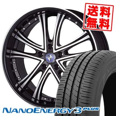 215/35R18 TOYO TIRES トーヨー タイヤ NANOENERGY3 PLUS ナノエナジー3 プラス Warwic DS.05 ワーウィック DS.05 サマータイヤホイール4本セット