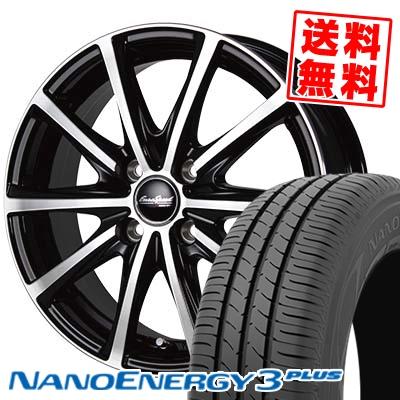 205/50R16 TOYO TIRES トーヨー タイヤ NANOENERGY3 PLUS ナノエナジー3 プラス EuroSpeed V25 ユーロスピード V25 サマータイヤホイール4本セット