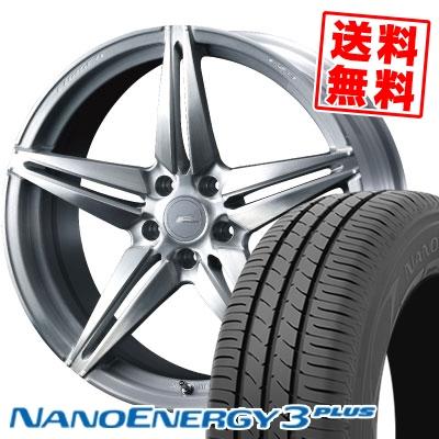 245/35R20 95W XL TOYO TIRES トーヨー タイヤ NANOENERGY3 PLUS ナノエナジー3 プラス WEDS F ZERO FZ-3 ウェッズ エフゼロ FZ-3 サマータイヤホイール4本セット