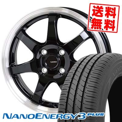 165/65R14 79S TOYO TIRES トーヨー タイヤ NANOENERGY3 PLUS ナノエナジー3 プラス G.speed P-03 ジースピード P-03 サマータイヤホイール4本セット