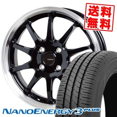 185/55R15 82V TOYO TIRES トーヨー タイヤ NANOENERGY3 PLUS ナノエナジー3 プラス G.speed P-04 ジースピード P-04 サマータイヤホイール4本セット