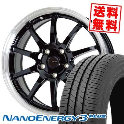 205/65R15 94H TOYO TIRES トーヨー タイヤ NANOENERGY3 PLUS ナノエナジー3 プラス G.speed P-04 ジースピード P-04 サマータイヤホイール4本セット