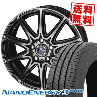 205/65R16 TOYO TIRES トーヨー タイヤ NANOENERGY3 PLUS ナノエナジー3 プラス SMACK LAVINE スマック ラヴィーネ サマータイヤホイール4本セット